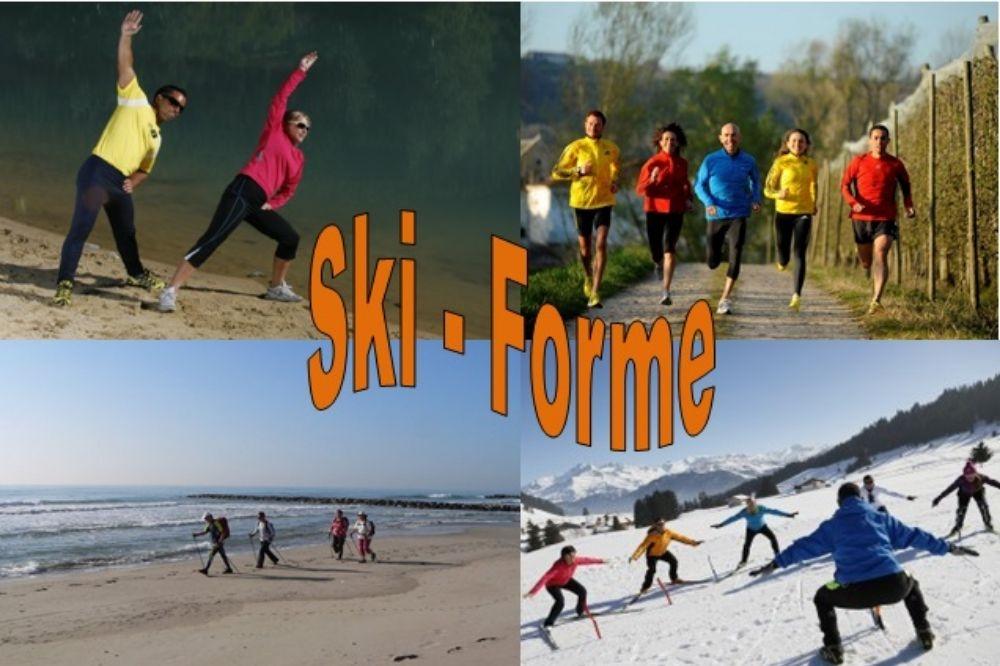 Les séances de préparation physique au ski